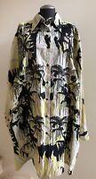 NWOT $1,060 DRIES VAN NOTEN Davitus Embellished Poplin Shirt Dress, Size Medium