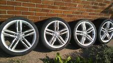 "Alloy Wheels Audi S5 19""  + Tyres   Genuine"