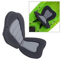 Universal Deluxe Canoe Kayak Seat Padded Adjustable Straps Back