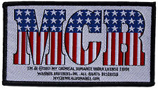My Chemical Romance Stars & Stripes Logo Sew On Patch New & Official Band Merch