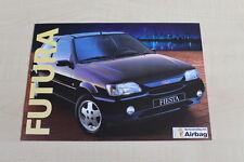 160077) Ford Fiesta - Futura - Prospekt 03/1994
