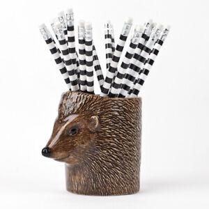 Quail Ceramics  Pencil Pot   Hedgehog