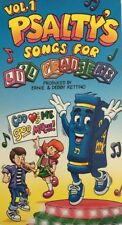 Psalty's Volume 1 Songs for Lil Praisers VHS-TESTED-RARE VINTAGE-SHIPS N 24 HRS