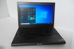 Dell Precision M4800 Intel i7-4600 (4th Gen) 2.90GHz 16GB Wi-Fi BT DVDRW Webcam