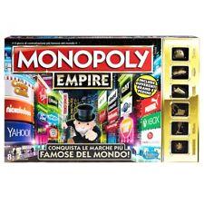MONOPOLY Speciale EMPIRE Marche Famose ITALIANO Gioco Scatola HASBRO Monopoli