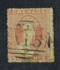 Ckstamps: Gb Stamps Collection Grenada Scott#2 Used Tiny Thin