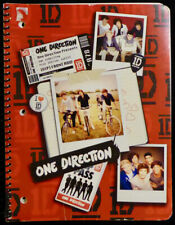NEW ONE DIRECTION NOTEBOOK 1D SPIRAL 3-HOLE PUNCHED SCHOOL SUPPLIES WIDE RULED