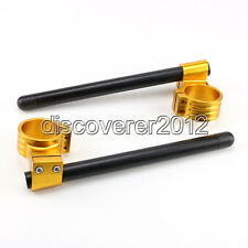 50MM High Lift Clip Ons On Handlebar For Ducati Monster 696 2008 2009 2010 HBG