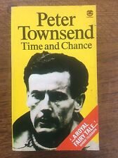 Peter Townsend Timeand Cance An Autobiography pubd Fontana / Collins 1st Ed 1979