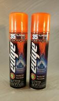 TWO PACK Edge Advanced Sensitive Skin With Aloe Vera Shave Gel 9.5 oz 269 g