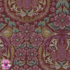 Tula Pink Eden Crouching Tiger Tourmaline PWTP077 Cotton Fabric by the Yard