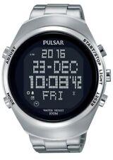 Relojes de pulsera Pulsar Chrono de plata