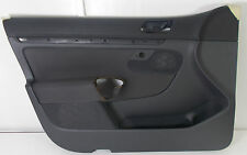 VW GOLF MK5 4DR DRIVERS FRONT BLACK CLOTH DOOR CARD TRIM PANEL - 1K4 867 011 FD