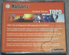 Garmin MapSource United States Topo Cds V3* withTrip & waypoint management