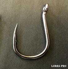 Lures Pro-10 Pcs Fishing Lures Baits Tackles hooks bait 1/0 2/0 3/0 4/0 5/0 6/0