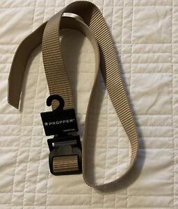 """Tactical Duty Belt Propper Belt Buckle No Metal High Strength Khaki 1.5"""" 36-38"""