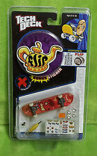 2002 Tech Deck Flip Generation 10 Geoff Rowley Mini Fingerboard Skateboard NEW