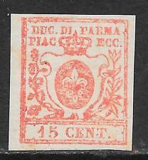 Parma 1857 Sa 9  large margins MLH VF