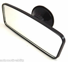 Car Rear View Interior Mirror Suction Black Baby Safety - Pickup Only