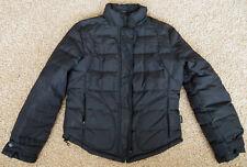 Calvin Klein Black Quilted Puffer Winter Jacket - Women S