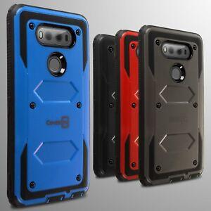 For LG V20 Hard Case Hybrid Phone Tough Cover Armor