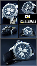 LUXURY & VALUABLE CHRONOGRAPH- CAT WATCH EXCLUSIVE DESIGN 10 BAR WATERPROOF NEW