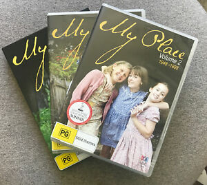 DVD - MY PLACE VOLUME 1 (2008-1958) & 2 (1948-1888) also SERIES 2 - Region 4 PAL