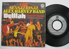 "7"" Sensational Alex Harvey Band - Delilah / Soul In Chains - VERTIGO"