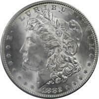 1882 Morgan Dollar Choice About Uncirculated 90% Silver $1 US Coin Collectible