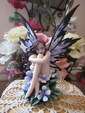 Amy Brown Naked PERIWINKLE FAERY Fairy Figurine New In Box! by Pacific Giftware