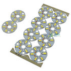 10 Pcs High Power 3W 5730 SMD Panel Pure White LED Ceiling Light Fixtures Board