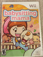 WII BABYSITTING SITTING MAMA original Replacement Case NO GAME INCLUDED