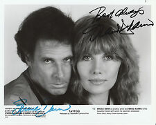 "Bruce Dern & Maud Adams Autographed Signed 8 X10 From The Movie ""Tattoo"" W/Coa"
