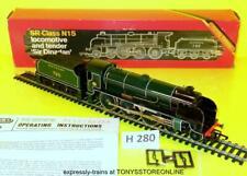 h280 hornby oo r154 cl n15 sr gloss green sir dinadan loco runs nr xclnt ded box