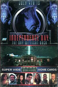 Independence Day ID4 Widevision Movie Trading Card Box. Factory Sealed. RARE!!!