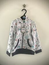 Boys Hoodie Aged 18-24 Months - Sea/ Nautical Theme With Fish And Crabs