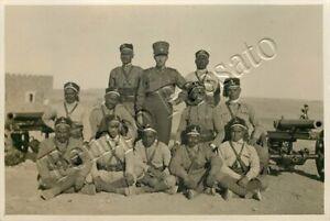 Colonie, Libia - Ascari, ufficiali italiani e cannoni