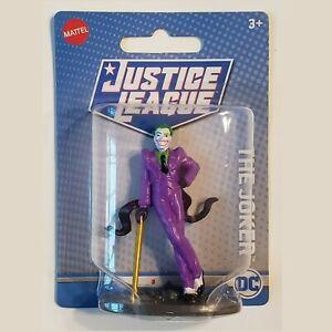 The Joker DC Comics Justice League Mini Figure Mattel Toy or Cake Topper NEW