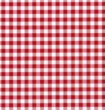 Klebefolie Karo rot weiß Möbelfolie kariert Dekorfolie selbstklebend 45x200 cm