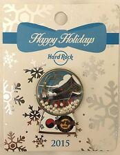Hard Rock Cafe Seoul 2015 Snow Globe Pin LE