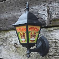 Tiki Bar Lantern, Home Bar Light, Outdoor Tiki Bar Sign, Man Cave Light Pub Lamp