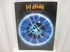 Def Leppard Adrenalize Melody Lyrics Chords Sheet Music Song Book Songbook
