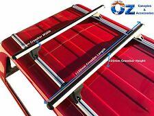 CANOPY ROOF RACKS X2 NEW Aluminium 115cm Universal Roof Racks CANOPY Cross Bars