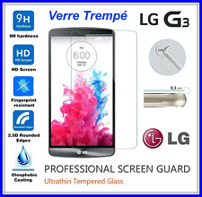 LG G3 Tempered Glass Vitre de protection d'écran en VERRE TREMPE