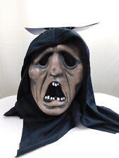 Hooded Vinyl Horror Monster Halloween Mask Adult One Size Haunt Prop #7101