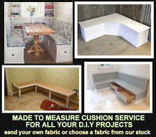 MADE TO MEASURE CUSHION SERVICE FOR ALL DIY PROJECTS HOME & GARDEN FURNITURE