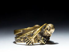 """Gollum Ring, """"My Precious"""", The Lord of the Rings, brass, adjustable size"""