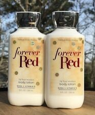 2 Bath & Body Works Forever Red Shea & Vitamin E Body Lotion 8oz New