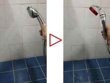 Premium Magic Storm Bath Shower head high pressure watersaving negative ion