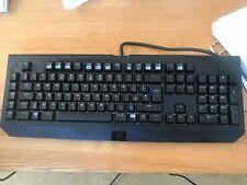 Razer Blackwidow Chroma mechanical keyboard. Perfect working order